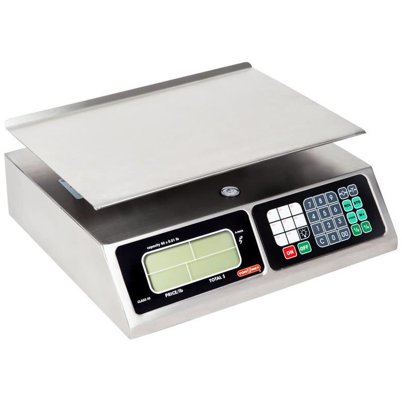 Balanza liquidadora en acero L-PCS20-EUR TORREY